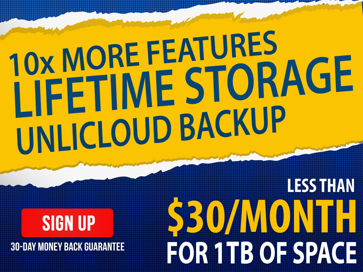 Lifetime Storage