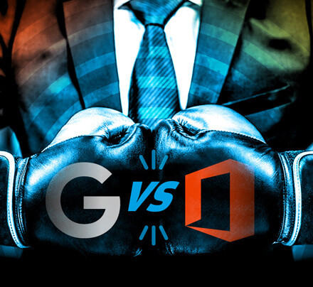 G Suite versus Office 365